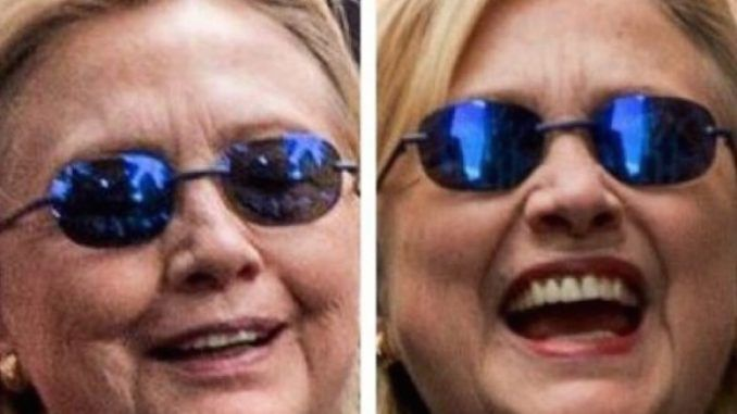 Hillary's body double is rumored to be her 'healthy lookalike'