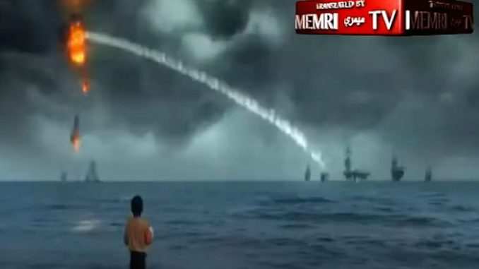 Iran release video showing the U.S. navy fleet being completely destroyed