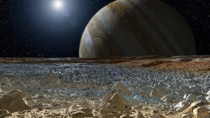 NASA to announce alien-related discovery about Europa on Monday