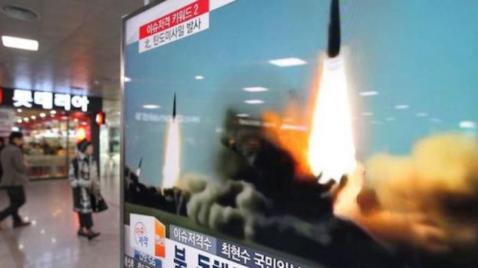 North Korea fire three missiles towards Japan