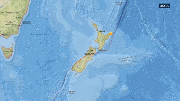 Powerful 7.2 Magnitude Earthquake Hits Off Coast Of New Zealand