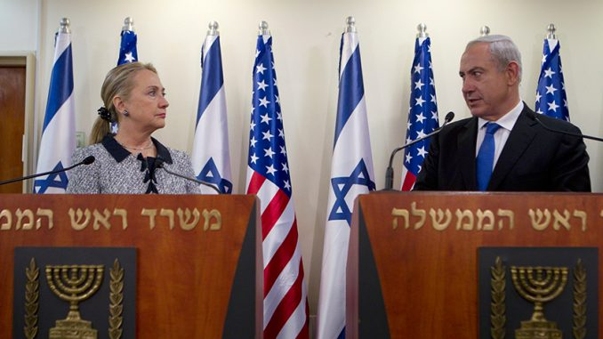 Benjamin Netanyahu says it doesn't matter who is elected US president, they will still support Israel