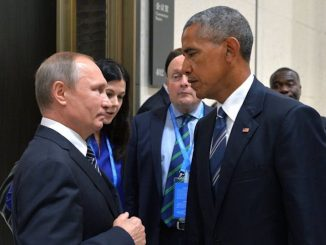 According to Obama - Putin invades smaller countries, jails political opponents, controls his country's media, and has driven Russia's economy into recession. Pot, kettle, black?