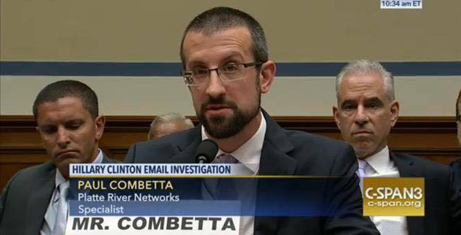 Paul Combetta pleads the fifth to Congress