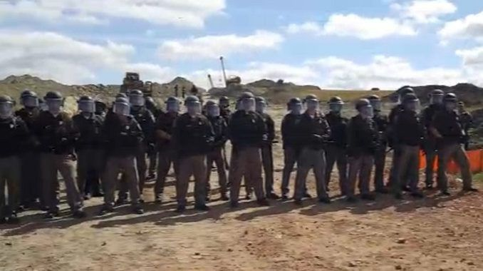 Facebook Censored Video Of Mass Arrests Say Pipeline Protesters