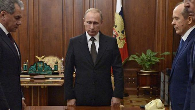 Putin rejects US calls to stop bombing ISIS militants