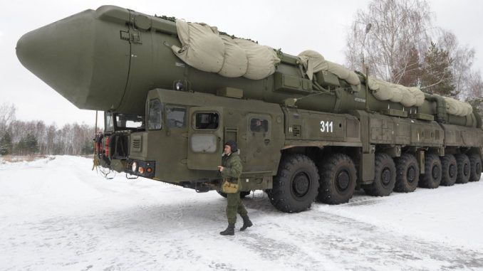 Russia Plans To Deploy Thermonuclear ICBMs To Border