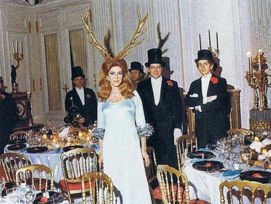 Rothschild occult party