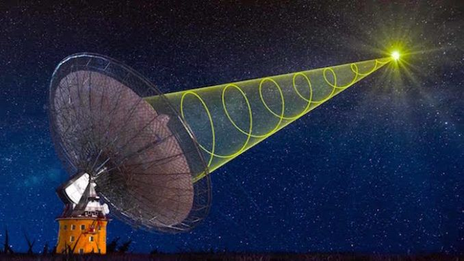 Russia detect alien signals from space