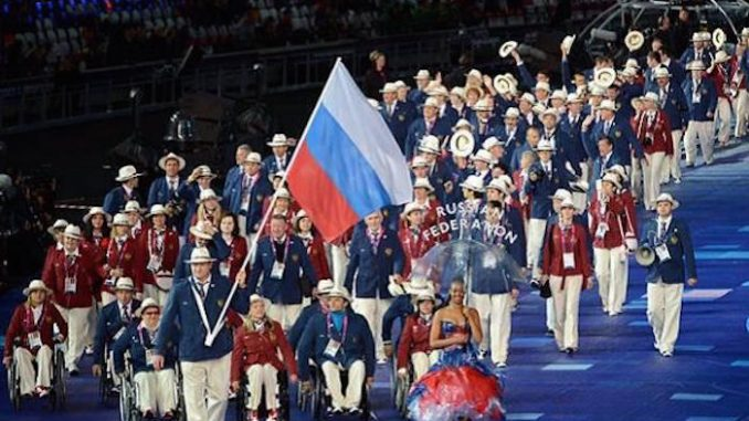 Russia launches its own version of the Paralympic games