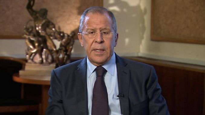 Russian foreign minister Sergei Lavrov stuns BBC by telling them that ISIS was created by the U.S.
