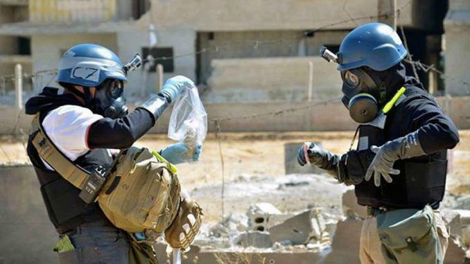 The UN knew about a 'staged' chemical attack in Syria