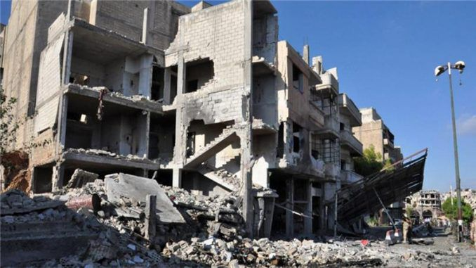 At Least 40 Killed In Multiple Blasts In Govt-Held Cities In Syria