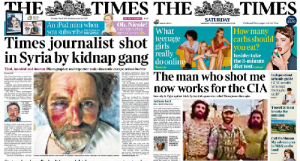 Times Reporter Who Was Shot In Syria Says Gunman Now US-Backed Rebel