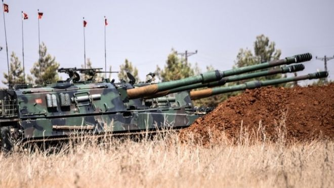 Turkey Sends More Tanks Into Northern Syria