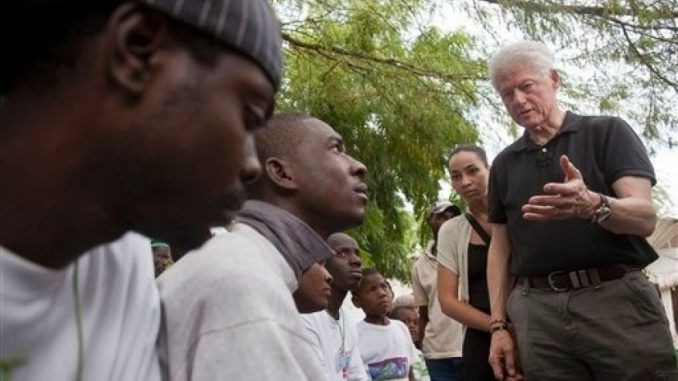 UN claims Bill Clinton was responsible for the deadly cholera outbreak in Haiti