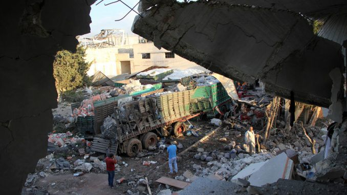 Russia, Syria Deny Responsibility For Attack On UN Aid Convoy