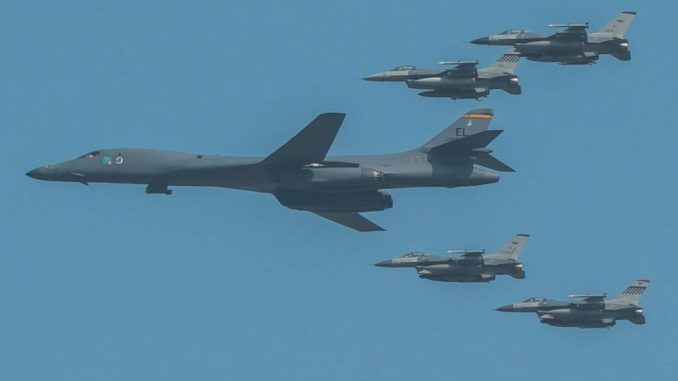 US Air Force bombers deployed to North Korea