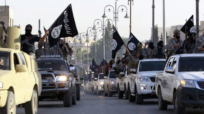 Military confirm collaboration between ISIS and White House in secret plan to oust Assad in Syria