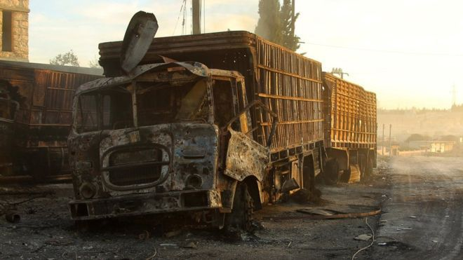 Did The US Target Aid Convoy With Hellfire Missile?