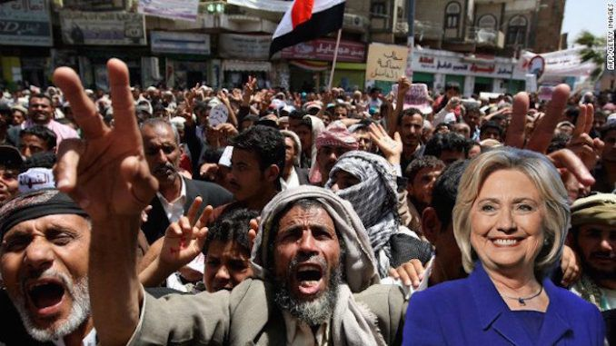 Wikileaks release shows Hillary Clinton sponsored Arab Spring to destabilize the Middle East