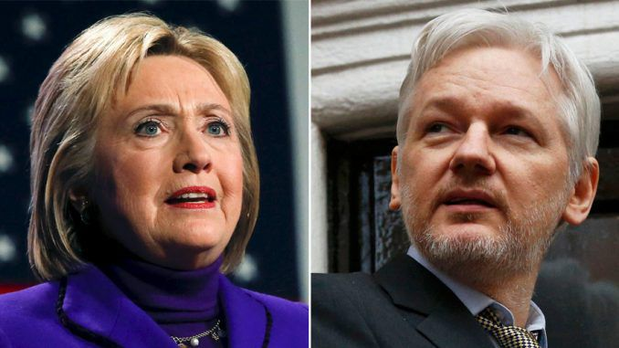 Julian Assange has said that a new Hillary Clinton leak set to be released this month will end her presidential bid