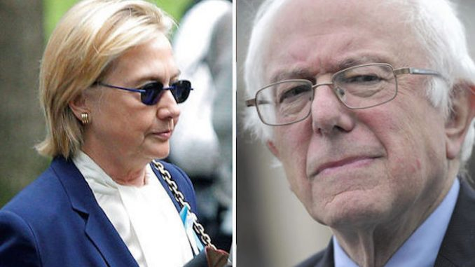 DNC hold emergency meeting to discus replacing Hillary with Bernie following collapse at 9/11 memorial