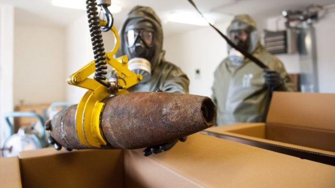 Ahrar Al-Sham planning chemical weapons attack on civilians and will blame it on Syria