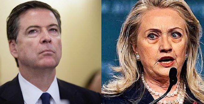 """FBI Director James Comey admitted that an FBI employee doing what Hillary Clinton did with classified material would """"be in big trouble""""."""