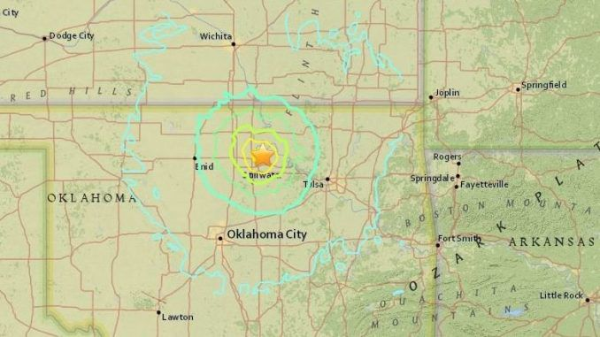 Strong Magnitude 5.6 Earthquake Shakes Oklahoma