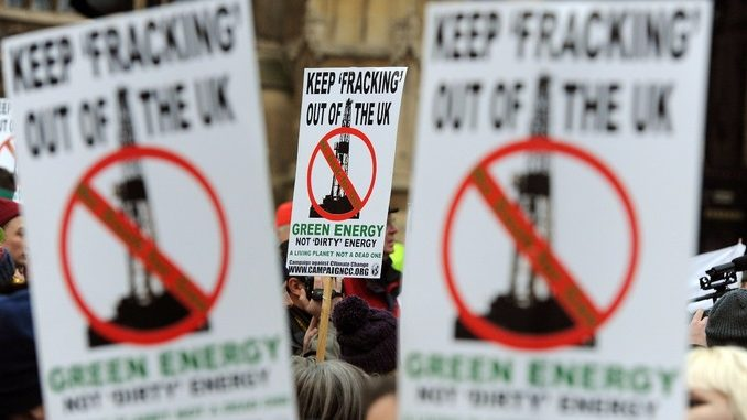 UK Labour Party Vows Fracking Ban If It Wins General Election