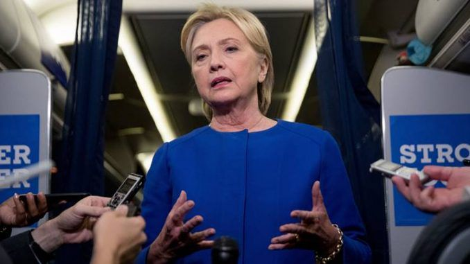 Hillary Clinton warns that Pakistan may send nuclear suicide bombers to the U.S.