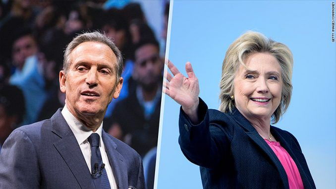 Starbucks CEO Endorses Hillary Clinton