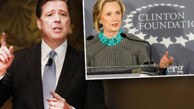 FBI Director James Comey's ties to the Clinton Foundation revealed