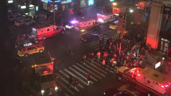 At Least 29 Injured In 'Intentional' New York Explosion