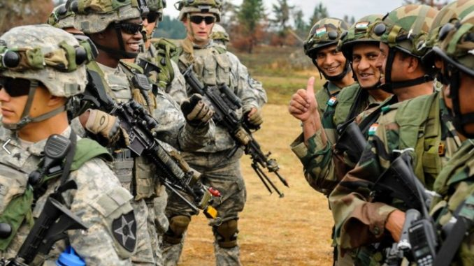 India And US To Hold Military Drills Near Border With China