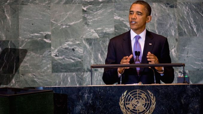 Obama says Israel must stop occupying Palestinian land
