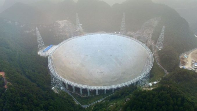 China's Giant Space Telescope Searches For Alien Life