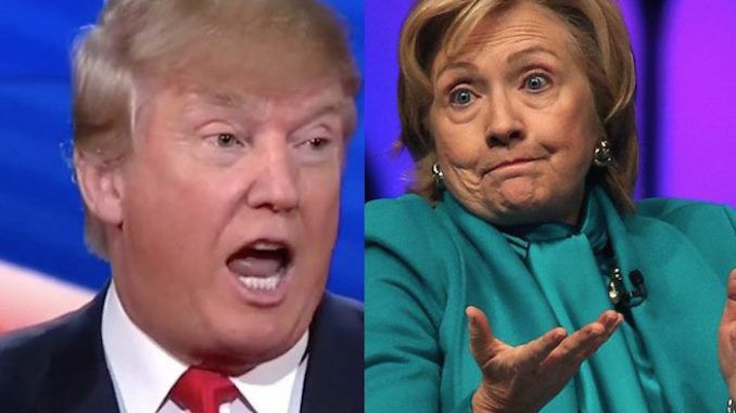 Trump requests moderator-less debate with Hillary