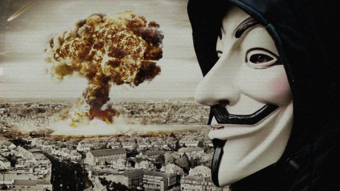 Anonymous warn that the Pentagon are about to declare World War 3