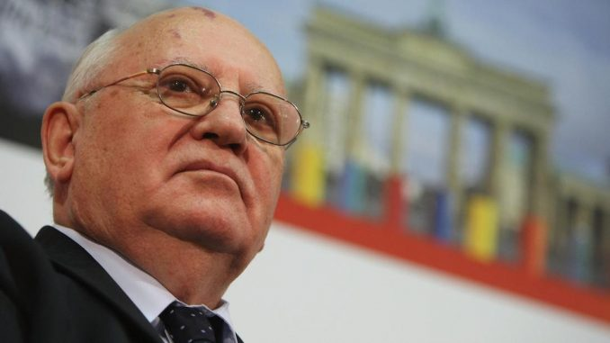 Mikhail Gorbachev warns that the U.S. and Russia are about to go to war
