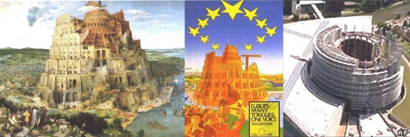 European Union occult symbols