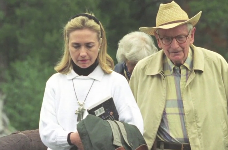 Bill and Hillary Clinton received a briefing from the late Laurance Rockefeller. The grandson of John D. Rockefeller brother of David was a leading UFO disclosure advocate.