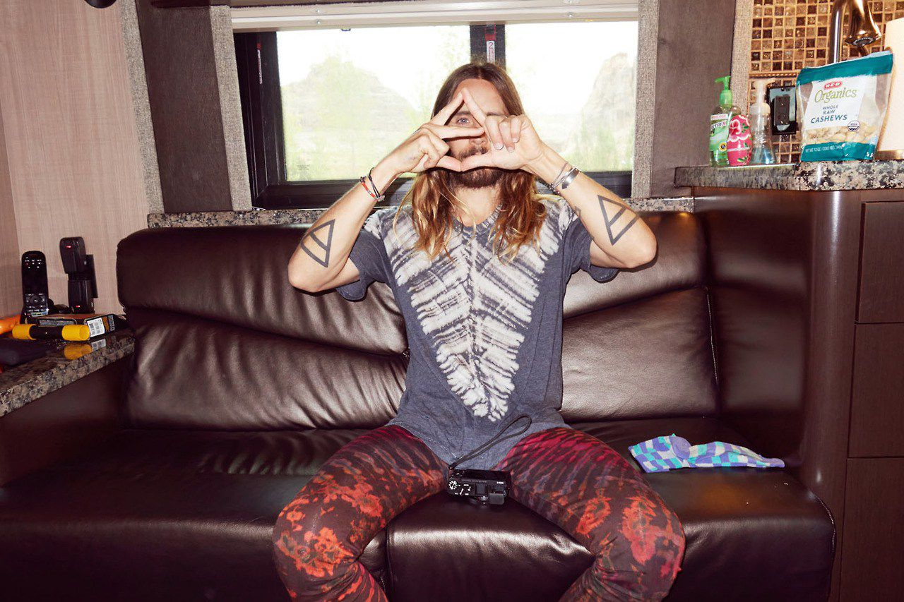 Jared Leto all seeing eye
