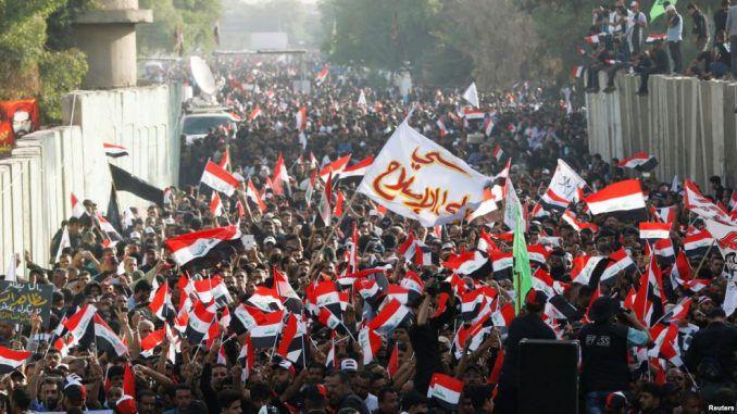 Huge Protests In Baghdad Against Turkey's Presence In Iraq