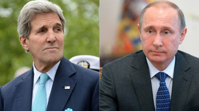 John Kerry Slams Russia For Supporting Syrian Government