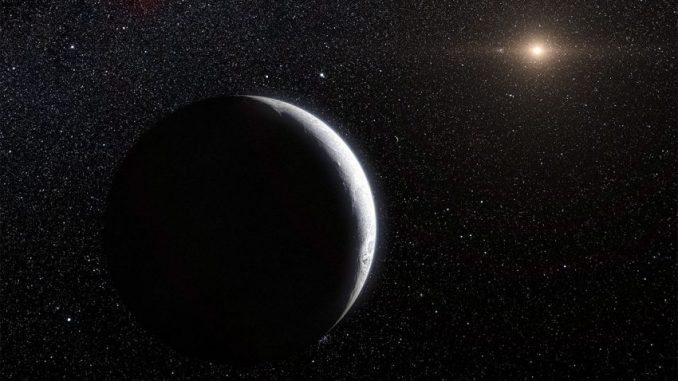 Ice World With 20,000-Year Orbit May Point To Planet Nine