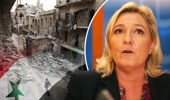 EU To Blame For Chaos In Syria: France's Le Pen