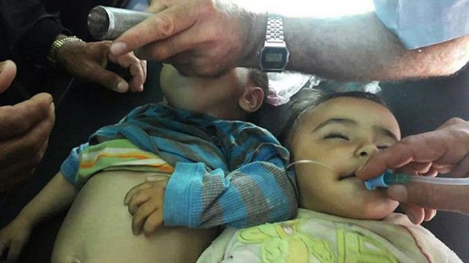 At least 36 children are dead and over 50 suffering allergic reactions after receiving measles vaccinations under a UN-sponsored program in the rebel-held north of Syria.