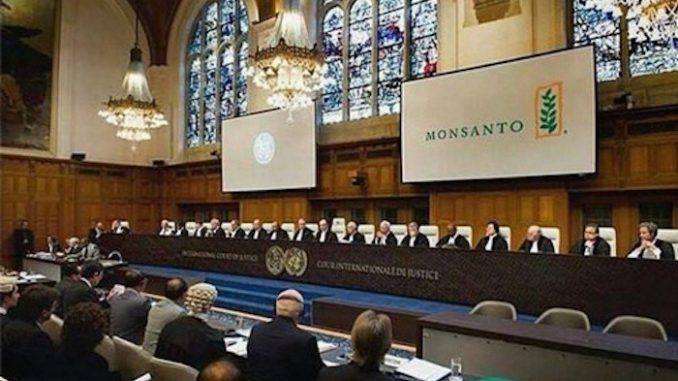 Monsanto begins trial for crimes against humanity at the Hague